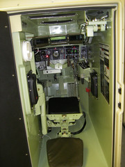 CCTT - Inside one part of a bradley sim