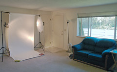 "My ""studio"" photo by Dave Ward Photography"
