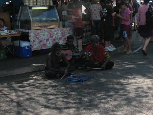 Buskers Parap Market