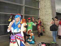 Photo spree, cosplay at tgs 2006