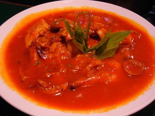 蕃茄鮮蝦什錦飯