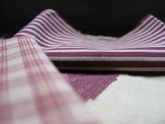 Tissu rayure