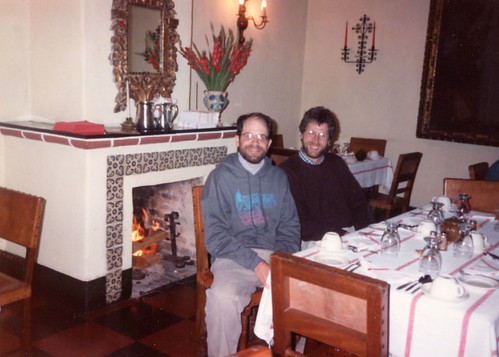 Don and David Sousa in Chicastenango, 1993