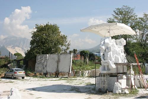Eine Skulptur entsteht
