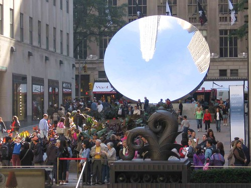 Sky Mirror from Rockefeller Plaza