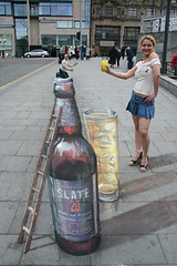 Julian Beever - Little and Large