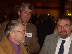 Tom Lewis, Harry Duchesne, Michael Boover at the Mayor's Prayer Breakfast