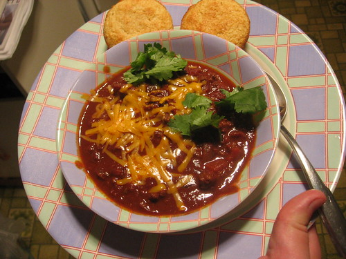 Chili, Ted style (no sour cream!)
