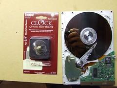Harddrive clock 1