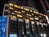 Stock Ticker at Times Square