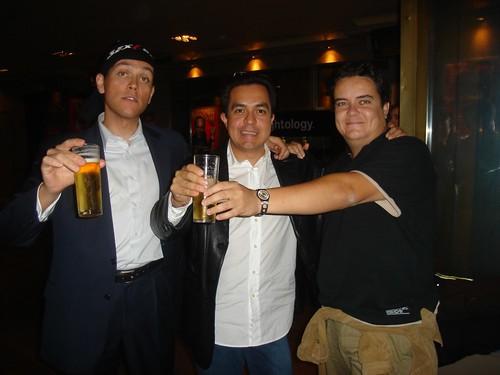 Los organizadores de Blogs. La Conversación (Antonio Fumero, Octavio Rojas y Fernando Polo)
