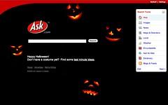 Ask.com Halloween 2006