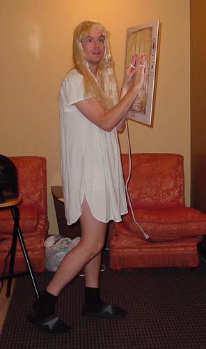 Robbie as Carol Ann