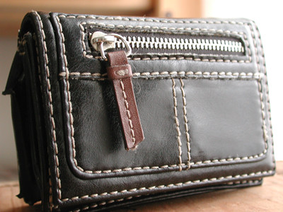 front wallet