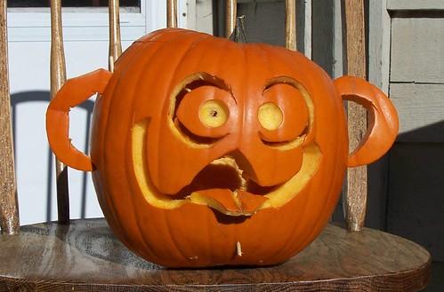 Mr Pumpkinhead