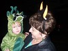 Baby Dragon and Grandma, Trick or Treating