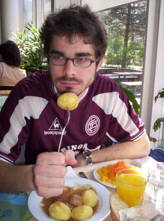 Miguel y su patata