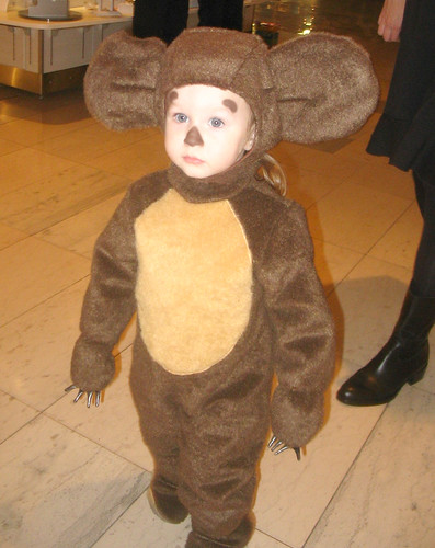 cheburashka at the mall