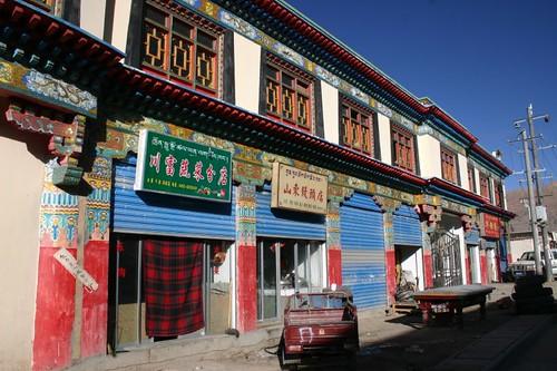 Saga downtown...Western Tibet.