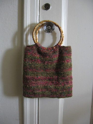 Pretty knit bag