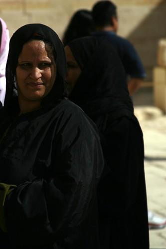 Women at Hatshepsut's Temple 2