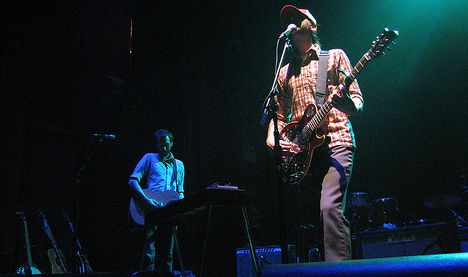 Band of Horses in the concert