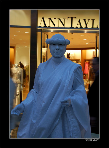 Venetian Human statue
