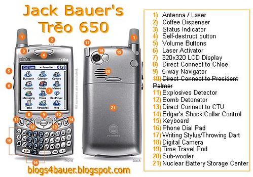 Jack Bauer's Treo