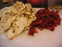 Giada De Laurentis Recipe - Spicy Sausage Artichokes Sun Dried Tomatoes Pasta