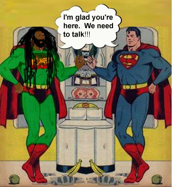 Supermans-visit