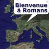 La carte interactive de Romans-sur-Isère