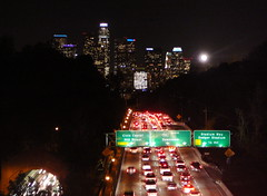 Night Ride Through Elysian Park