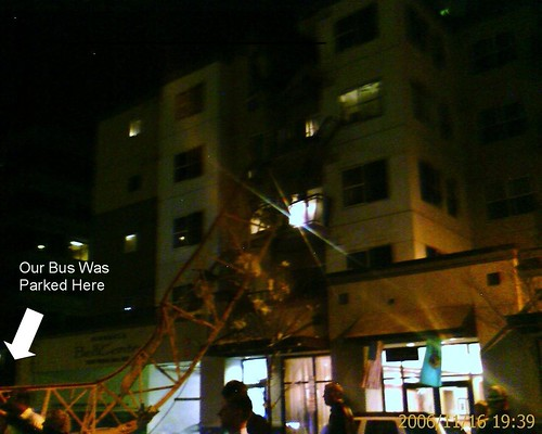 Crane accident in Bellevue
