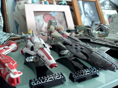 Battlestar Galactica Titaniums rule!