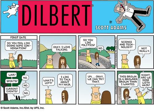 Dilbert's First Date