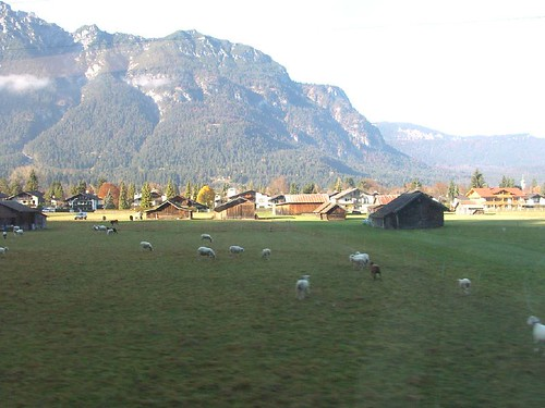 Image 22 View from the Train to Zugspitze