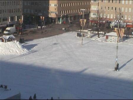 Radiadores bajo las calles en Finlandia
