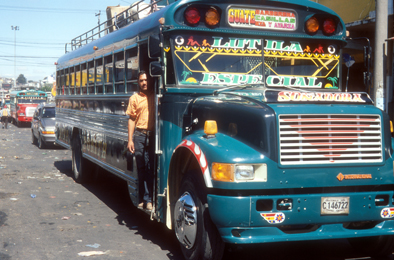 Guatemala City Bus 5