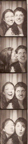 kat & steph photo booth
