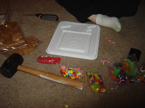 The Gingerbread House, after opening