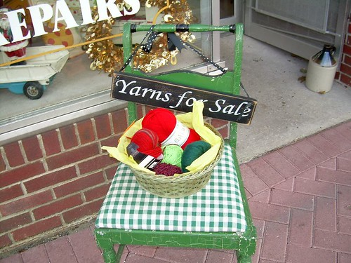 Yarns for sale!  Yay!