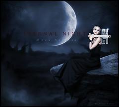 BLEND- ETERNAL NIGHT - Gwen Stefani photo by balt-arts