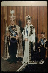 Original caption: Official photograph of the Imperial family on the occasion of the Coronation of the Shah. October 26, 1967 photo by BARON İRAN MOHAMAD REZA PAHLAVİ kings of Persia