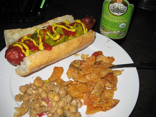 Haute dog from Edelweiss