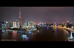 Shanghai :: Pudong & The Bund photo by DanielKHC