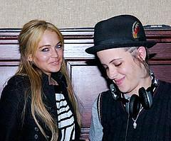 Linsay Lohan y Samantha Ronson