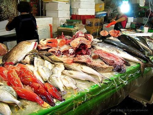 布袋觀光魚市 - 魚販
