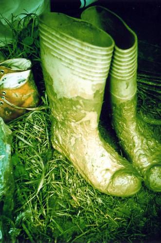 Muddy boots (by daz tazer)