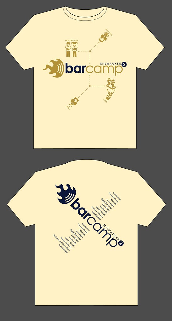 BarCampMKE2 Shirt Design v3