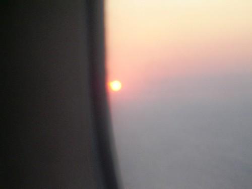 Sunset 26th July Fiumicinoi